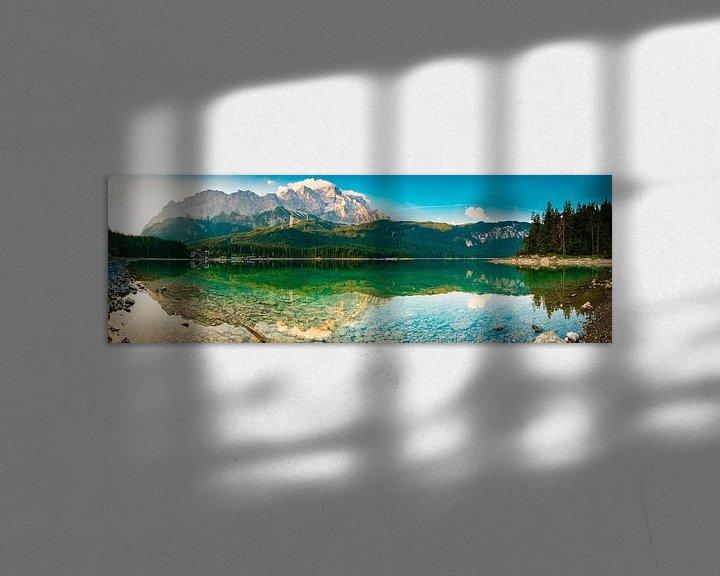 Beispiel: Eibsee Panorama von Martin Wasilewski