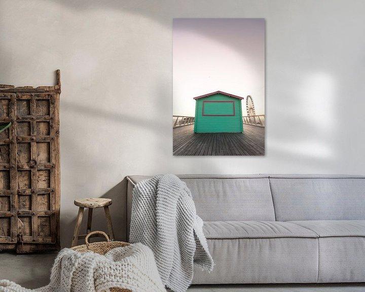 Sfeerimpressie: Scheveningse Pier van Jan Willem De Vos