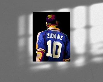 Zinedine Zidane wpap van miru arts