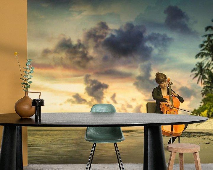 Sfeerimpressie behang: Concert at Sea van Arjen Roos