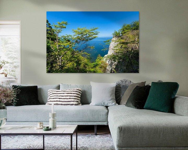 Impression: Au Königsstuhl, île de Rügen, parc national de Jasmund sur GH Foto & Artdesign