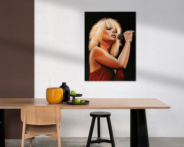 Sfeerimpressie: Blondie schilderij van Paul Meijering