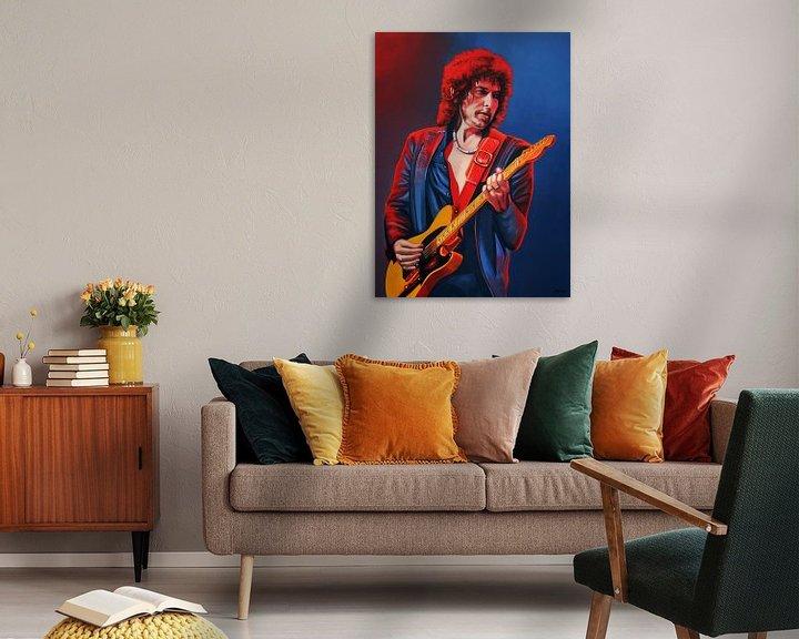 Beispiel: Bob Dylan Gemälde von Paul Meijering