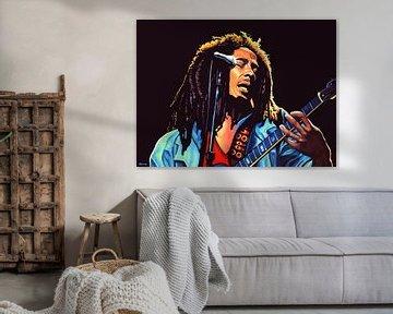 Bob Marley Tuff Gong Gemälde von Paul Meijering