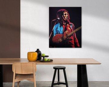 Bob Marley Malerei von Paul Meijering