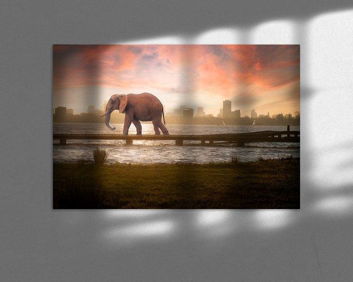 Sfeerimpressie: Urban Wild III van Arjen Roos