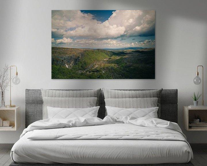 Beispiel: Taranaki Falls, Nieuw Zeeland von Jasper van der Meij