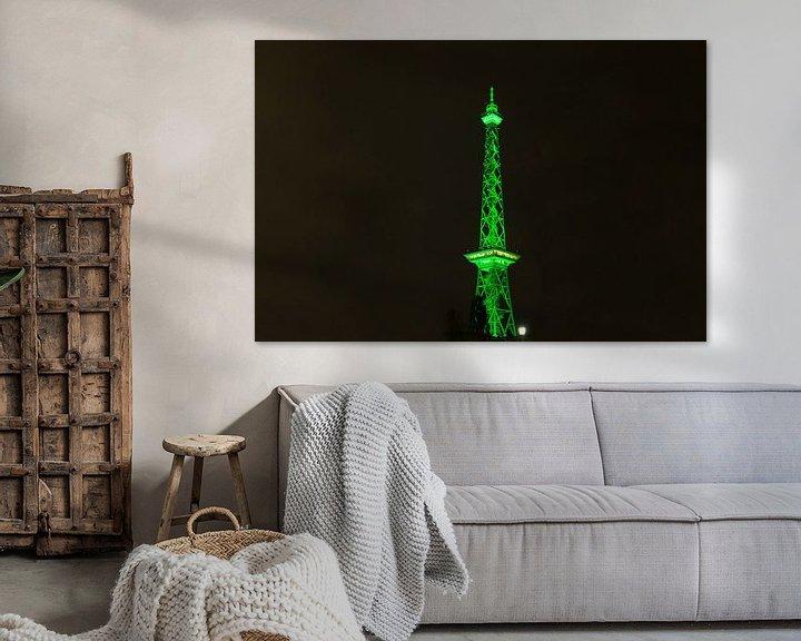 Impression: Feu vert pour la tour radio de Berlin sur Frank Herrmann