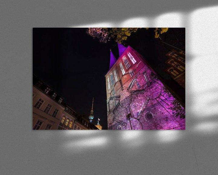 Impression: La Nikolaikirche de Berlin sous un éclairage particulier sur Frank Herrmann