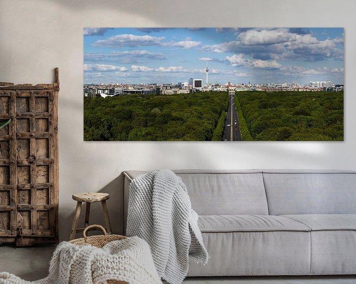 Impression: Panorama de la Skyline de Berlin sur Frank Herrmann