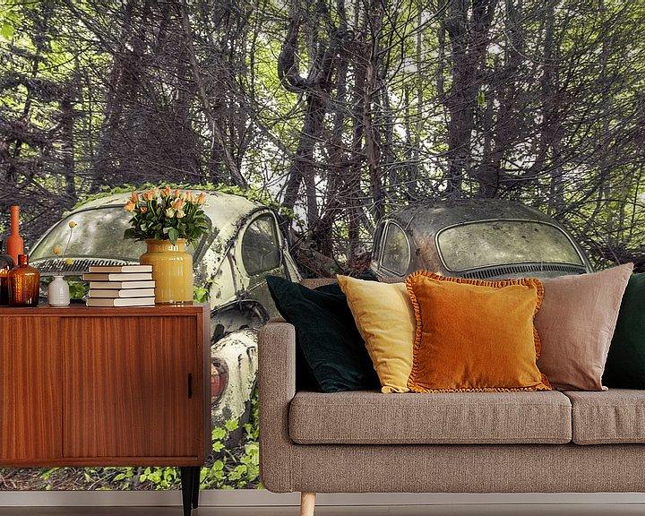 Beispiel fototapete: Käfer im Wald von Olivier Photography