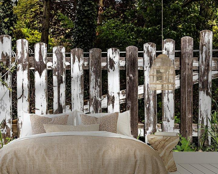 Impression: Vieille barrière de clôture usée par le temps sur Frank Herrmann