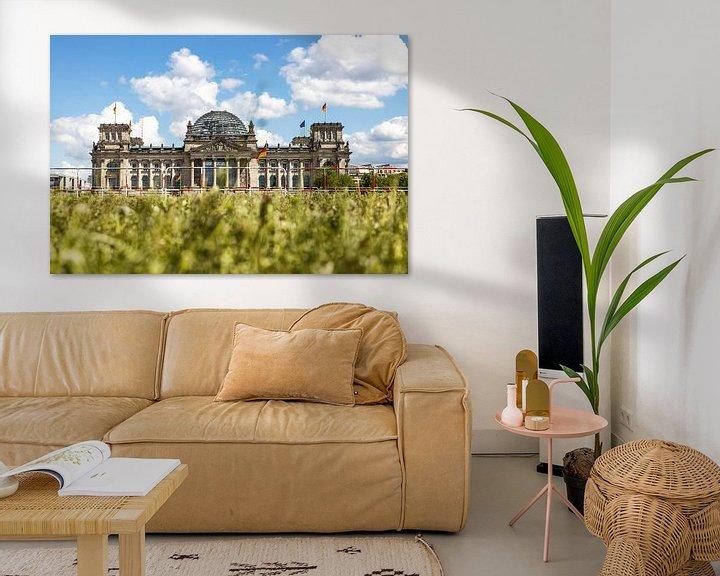 Beispiel: Reichstagsgebäude Berlin am Platz der Republik von Frank Herrmann