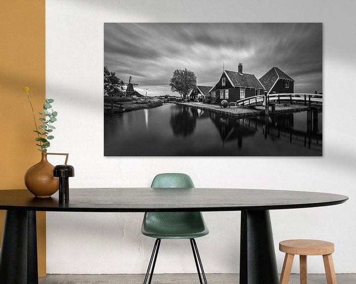 Beispiel: Ein Abend in der Zaanse Schans, Zaandijk von Henk Meijer Photography