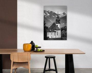 Maria Gern in schwarz und weiß von Henk Meijer Photography
