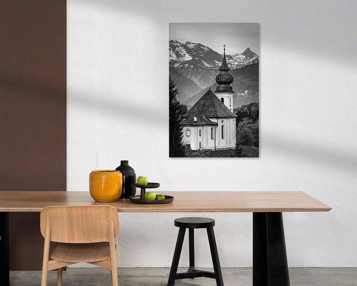Beispiel: Maria Gern in schwarz und weiß von Henk Meijer Photography