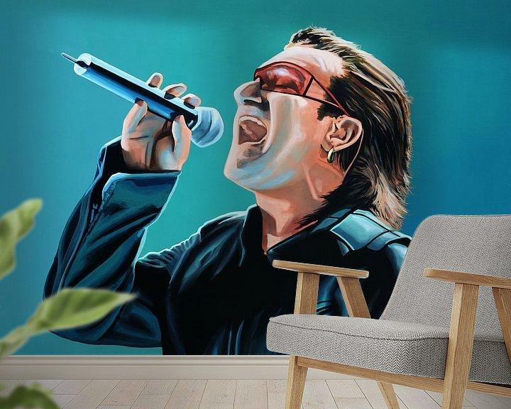 Beispiel fototapete: Bono Painting von Paul Meijering