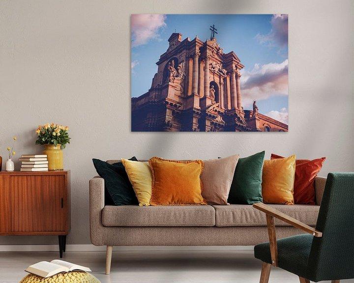 Sfeerimpressie: Kathedraal van Syracuse (Sicilië) van Alexander Voss