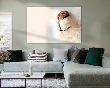 Weißer Teddybär zum Kuscheln von Margreet van Tricht