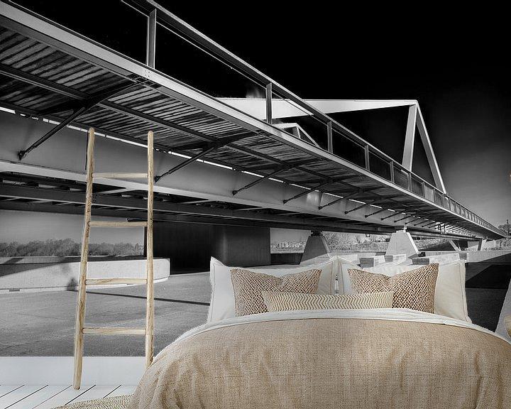 Beispiel fototapete: Brücke Vroenhoven von Rob Boon