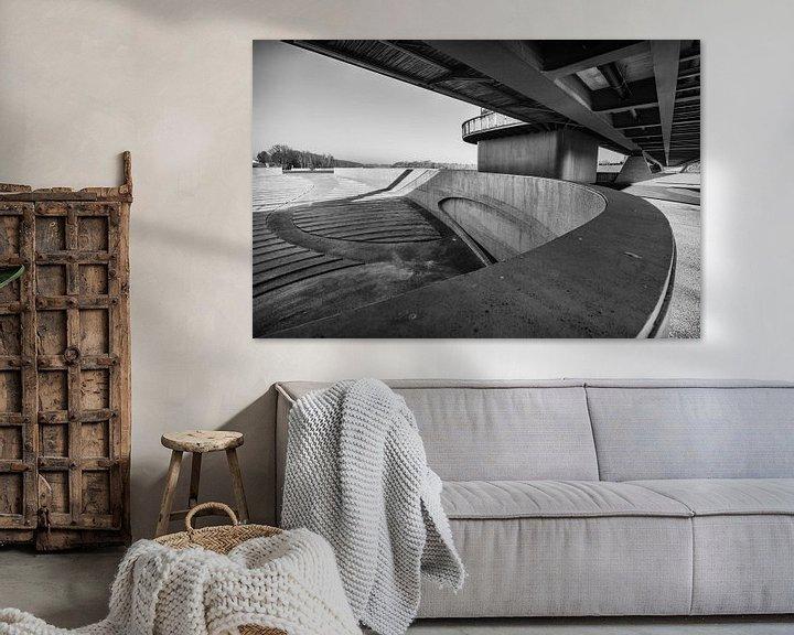 Beispiel: Brücke Vroenhoven von Rob Boon