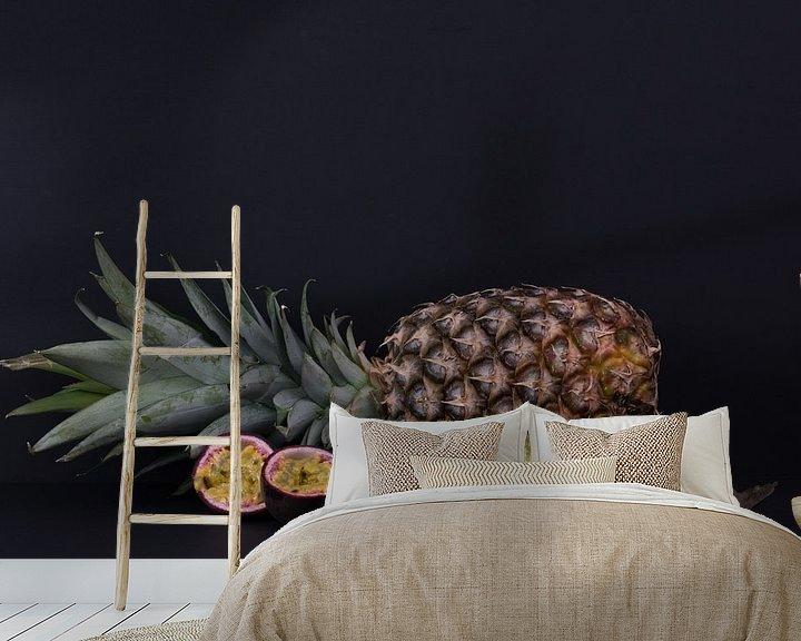 Beispiel fototapete: Exotische Früchte von Nancy Lamers