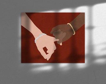 Kleiner Finger schwur, Sarah Leonard von PI Creative Art