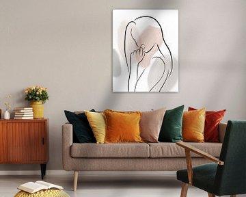 Bekleed Lady I, Sarah Leonard van PI Creative Art