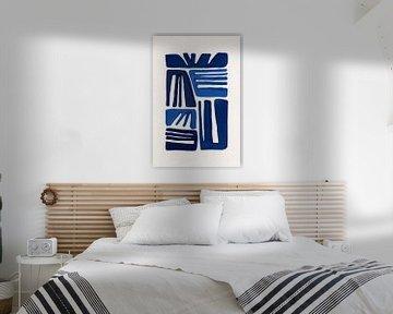 Indigo Form I, Eva Watts  von PI Creative Art