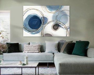 Infinity indigio I, Isabelle Z  von PI Creative Art