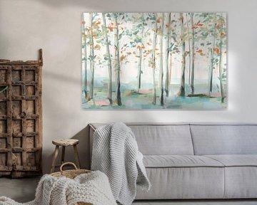 Emerald Forest III, Isabelle Z  van PI Creative Art