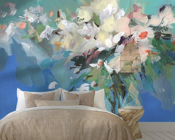 Sfeerimpressie behang: Spring Power, Isabelle Z  van PI Creative Art