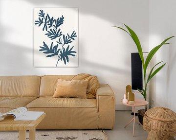 Blue Twig II, Isabelle Z  van PI Creative Art