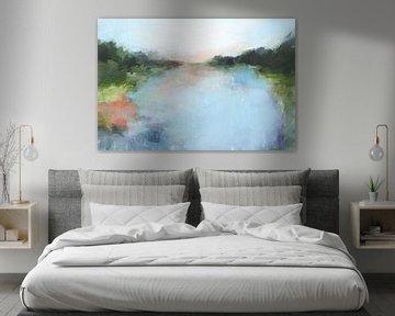 Emerald Lake I, Isabelle Z  van PI Creative Art