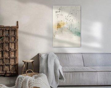 Stadt Sketch IV, Isabelle Z  von PI Creative Art
