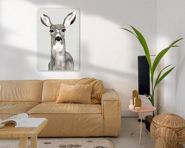 Oh Deer I, Jodi Hatfiled  von PI Creative Art