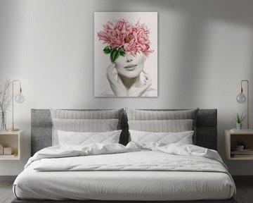 Blumen-Lächeln, Karen Smith  von PI Creative Art