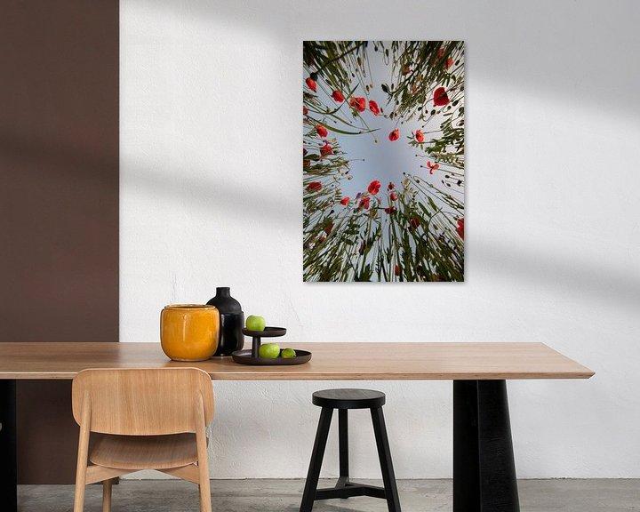 Beispiel: Mohnblumen in Mechelen von Jim De Sitter