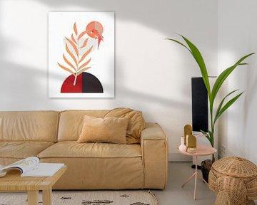 Abstract Parrot van Rudy & Gisela Schlechter