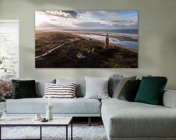 Leuchtturm Texel von Eveline Kallenberg