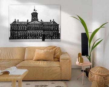 Koninklijk Paleis op de Dam in Amsterdam van Linsey Aandewiel-Marijnen