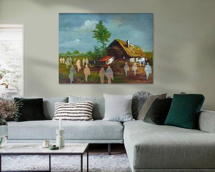 Sfeerimpressie: Kijkdag van Ruben van Gogh