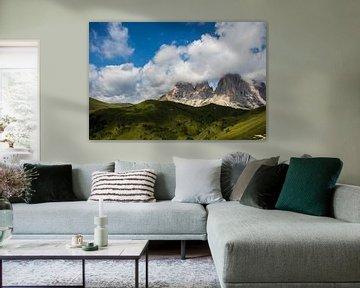 Hochgebirge Dolemiten in Italien von Joyce Schouten