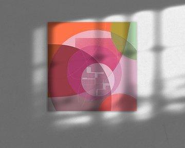 Abstrakt 2021 003 von Christine Bässler