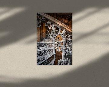 Treppe aus Gusseisen von Bjorn Renskers