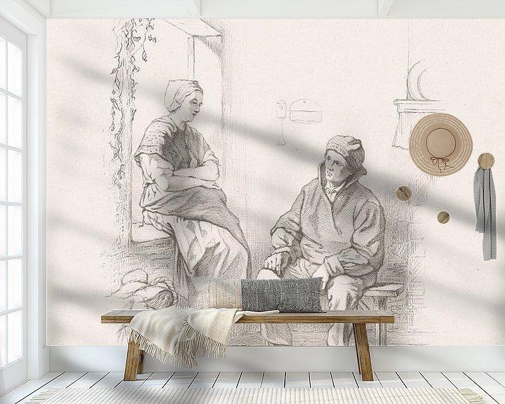 Sfeerimpressie behang: Eerste liefde van Eigenwijze Fotografie