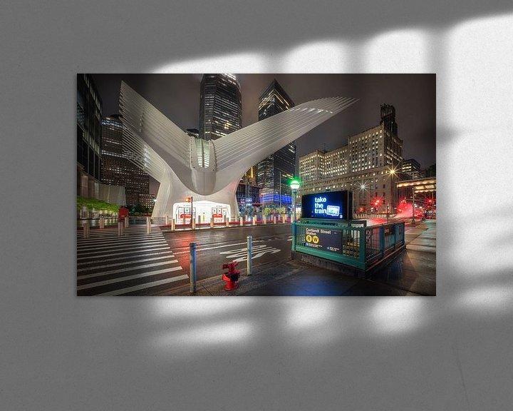 Sfeerimpressie: The Oculus, NY van Photo Wall Decoration