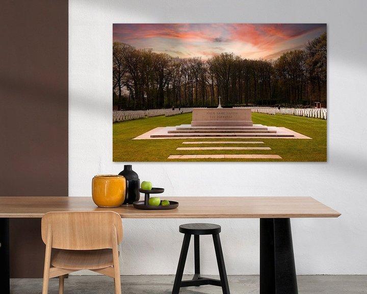 Sfeerimpressie: Militaire Erebegraafplaats Oosterbeek van Brian Morgan