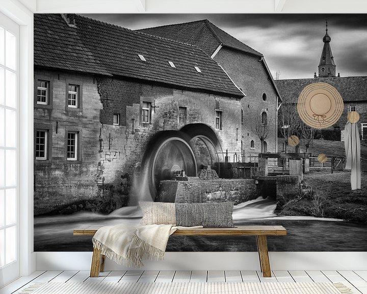 Beispiel fototapete: Wassermühle Wijlre von Rob Boon