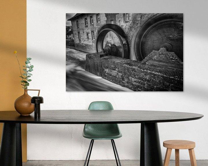 Beispiel: Wassermühle Wijlre von Rob Boon